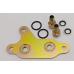 адаптер взамен теплообменника для подключения дополнительного внешнего радиатора АКПП Mazda CX-5, Mazda3, Mazda6 FW6A FW6A-EL 6gj gl