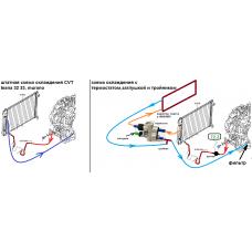 Комплект охлаждения АКПП на магистраль 8 мм МАКС (Murano Z50,Z51,Infiniti,Kia, Hyundai 4ст и др)