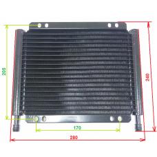Радиатор АКПП tc-678 [280х240х22], ядро 280х190х18, S=530 см²