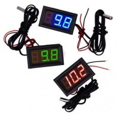 Датчик температуры cо светодиодным дисплеем (-40°С — +110°С)